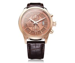 Lederen Horloge voor Mannen