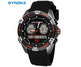 Synoke Digitaal Waterproof Mannen Horloge