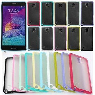 TPU Bumper En Polycarbonaat Hoesje Voor Je Samsung