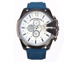 Casual Horloge Voor Heren In Twee Kleuren