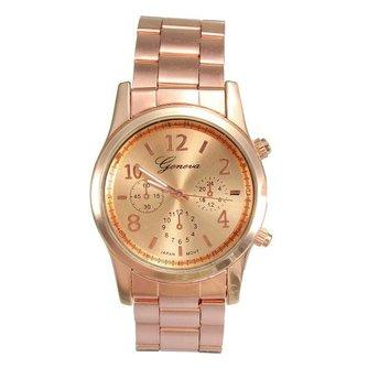 Casual Unisex Horloge met Roestvrij Stalen Polsband