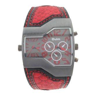 Roestvrij Staal Horloge met Dubbel Scherm