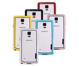 Ultradunne Bumper Frame voor de Samsung Galaxy Note 4