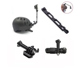 Helm Mount Voor GO PRO Camera's