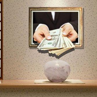 3D Muursticker Thema Dollars