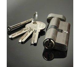Cilinderslot Met Zeven Pinnen Voor Lockpicking