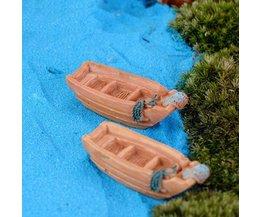 Vissersbootje voor in de Tuin