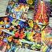 Ansichtkaart Kleurrijk van Parijs