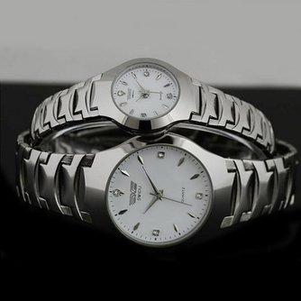 SWIDU SWI-011 Horloge voor Hem en Haar met Roestvrij Stalen Band