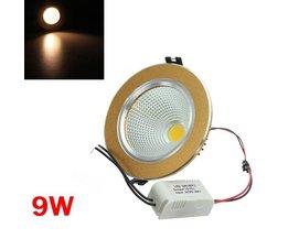 Goude LED Plafondlamp 9W 85-265V