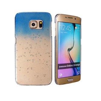 3D Regendruppels Hoesje voor de Samsung Galaxy S6 Edge