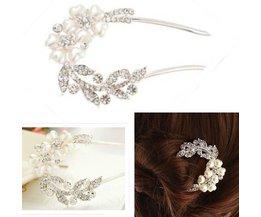Mooie Haarspelden met Bloemen