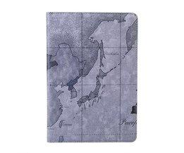 Modieus Wereldkaart Beschermhoesje voor de iPad Mini
