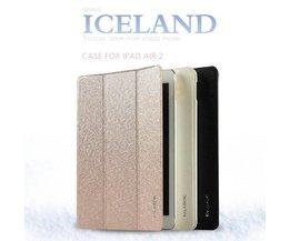 Sterke Beschermhoes van PU Leer voor de iPad Air 2