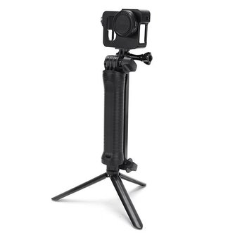 Instelbaar Statief met 3-Weg-Hoofd voor de GoPro 2 3 4 3 Plus