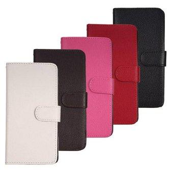 Staand PU Leren Beschermhoes voor de Samsung Galaxy Note 4