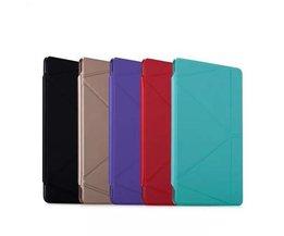Momax Unieke Leren Staande Beschermhoes voor de iPad Mini2 / Mini3