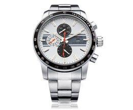 Zilver Mannen Horloge WEIDE