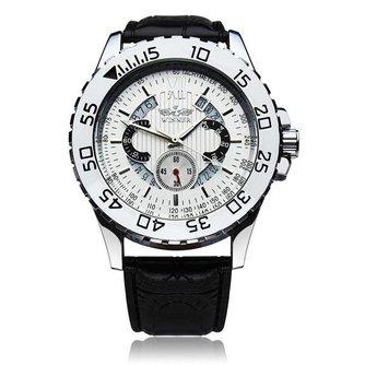 Winner Skeleton Horloge Heren met Leren Polsband