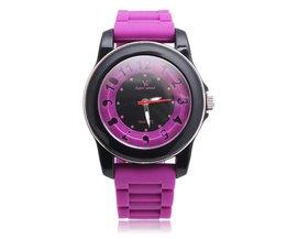 V6 Super Speed Unisex Horloge met Siliconen Polsband