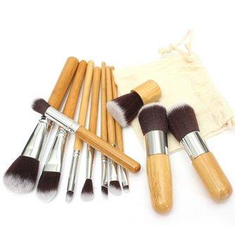 Kwasten Voor Make-Up 11 Stuks