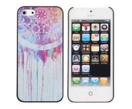 Hoesje Met Kleurrijk Patroon Voor iPhone 5 & 5S