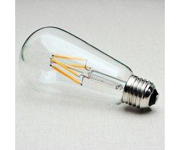 Retro ST64 Lamp Met E27 Fitting