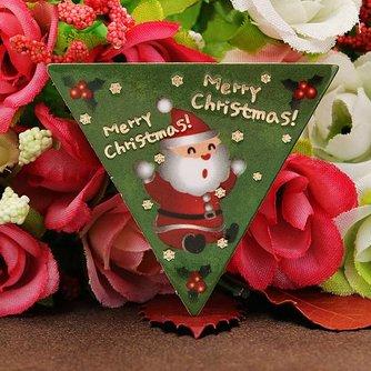 Kerst Cupcake Kaartjes 50Stuks