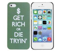 Hoesje Voor de iPhone Get Rich or Die Tryin