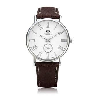 YAZOLE 297 Unisex Horloge Vintage Stijl