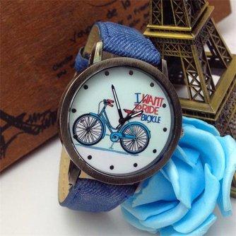 Horloges Vintage Leuk Fiets