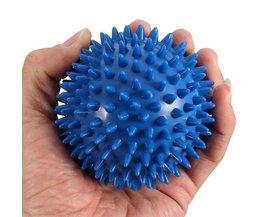 Flexibele Blauwe Massage Bal met Stekeltjes