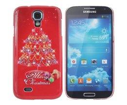 Samsung Galaxy S4 Hardcase Met Kerstthema