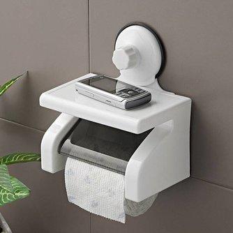Toiletrolhouder met Plankje
