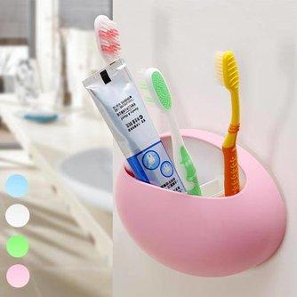 Vrolijke Tandenborstelhouder met Zuignap