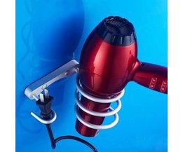 Aluminium Spiraal Houder voor Haardroger of Stijltang