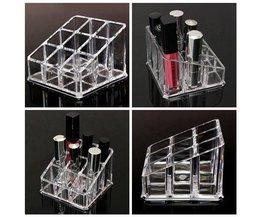 Make-up Display Voor Lipstick & Nagellak