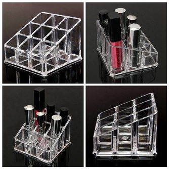 Make-up Display Voor Lipstick & Nagellak
