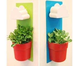 Hangpot voor Planten met Regenwolk