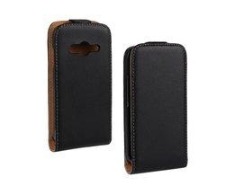 PU-leren Flip Case Voor Samsung Galaxy Ace 4 G313