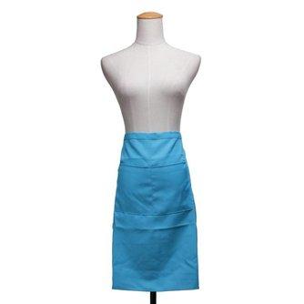 Keukenschort in de Kleur Blauw