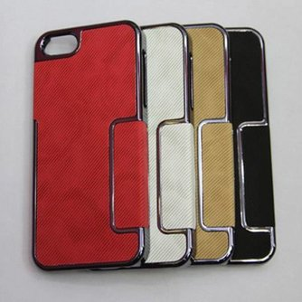 PU Leren Holster Hoesje voor de iPhone 5/5S