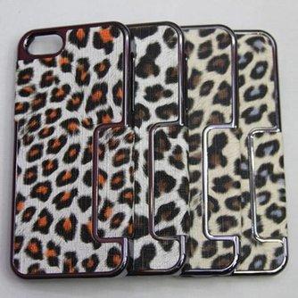 Holster Hoesje met Luipaard Patroon voor de iPhone 5/5S