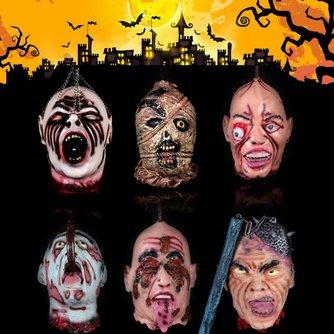 Halloween Hoofd Van Latex