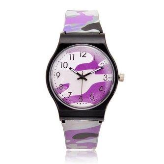 Camouflage Horloge