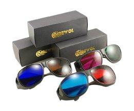 3D Brillen Rood/Blauw, Rood/Groen en Blauw/Bruin