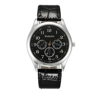 WOMAGE Quartz Horloge voor Dames en Heren