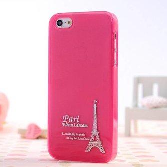 Eiffeltoren Hoesje Voor iPhone 5 & 5S