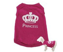 Princess T-Shirt Voor Honden