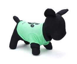 Honden T-Shirt Pootafdruk